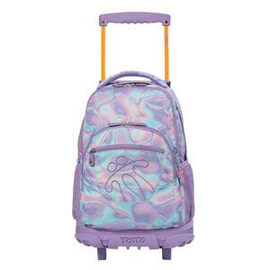 Mochila escolar con ruedas - Renglon