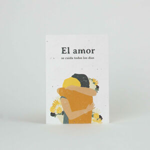 Tarjeta Eco-Friendly semillas - El amor
