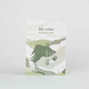 Tarjeta Eco-Friendly semillas - Mi color