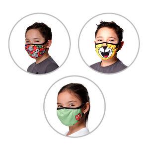 Set de tres mascarillas infantiles