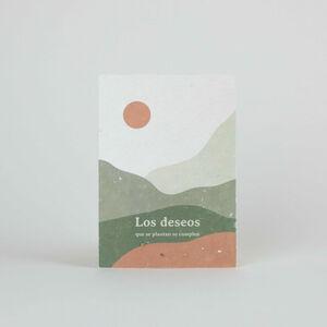 Tarjeta Eco-Friendly semillas - Los deseos