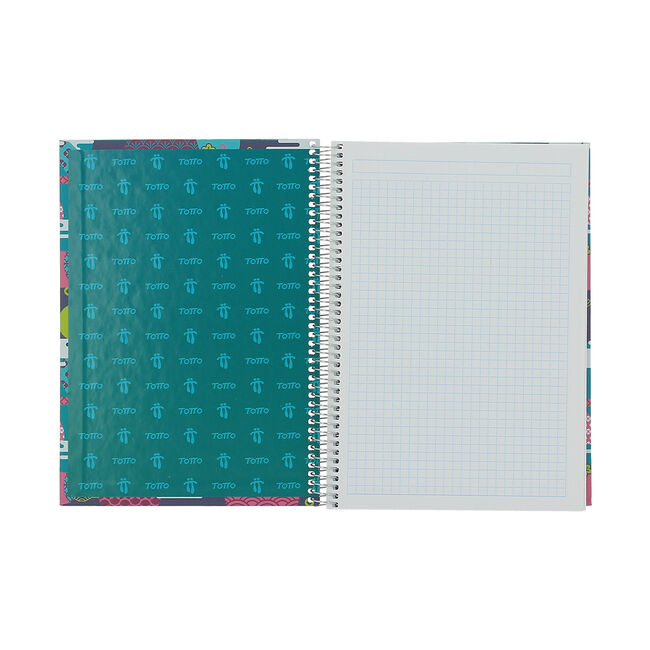 Cuaderno A5 tapa forrada image number null