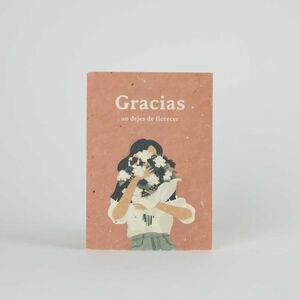 Tarjeta Eco-Friendly semillas - Gracias