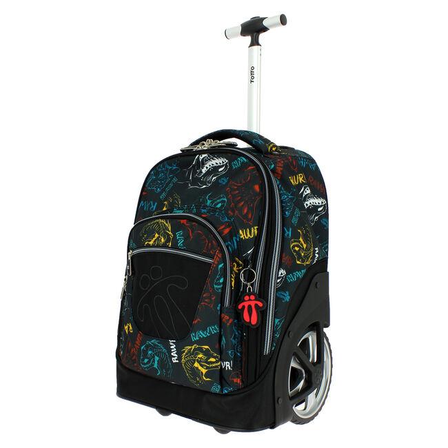 Mochila escolar con ruedas - Papel image number null