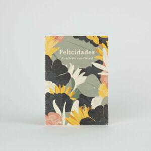 Tarjeta Eco-Friendly semillas - Felicidades