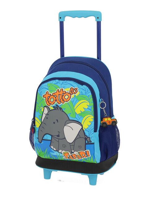 Mochila escolar con ruedas - Elefante image number null