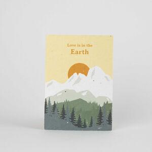 Tarjeta Eco-Friendly semillas - Love