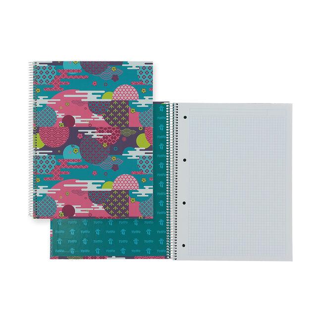 Cuaderno A4 tapa dura forrada image number null