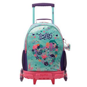 Mochila escolar con 3 ruedas - Confetti Happy