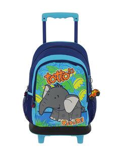 Mochila escolar con ruedas - Elefante