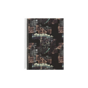 Cuaderno A5 tapa forrada